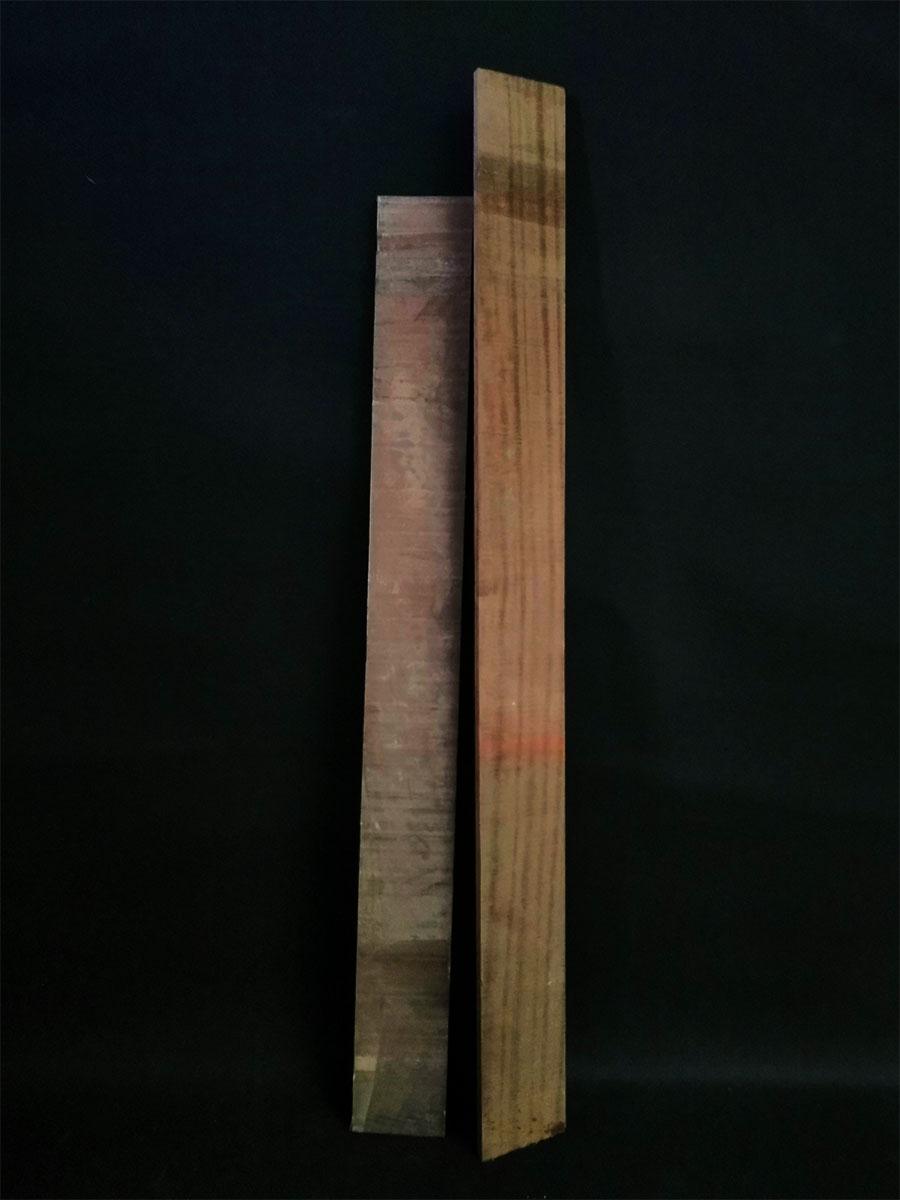 Planches de bois exotique