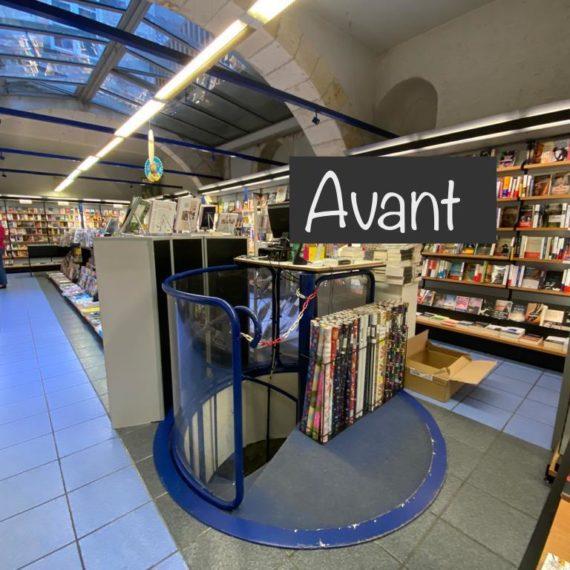 Aménagement durable Maison de la Presse La Rochelle